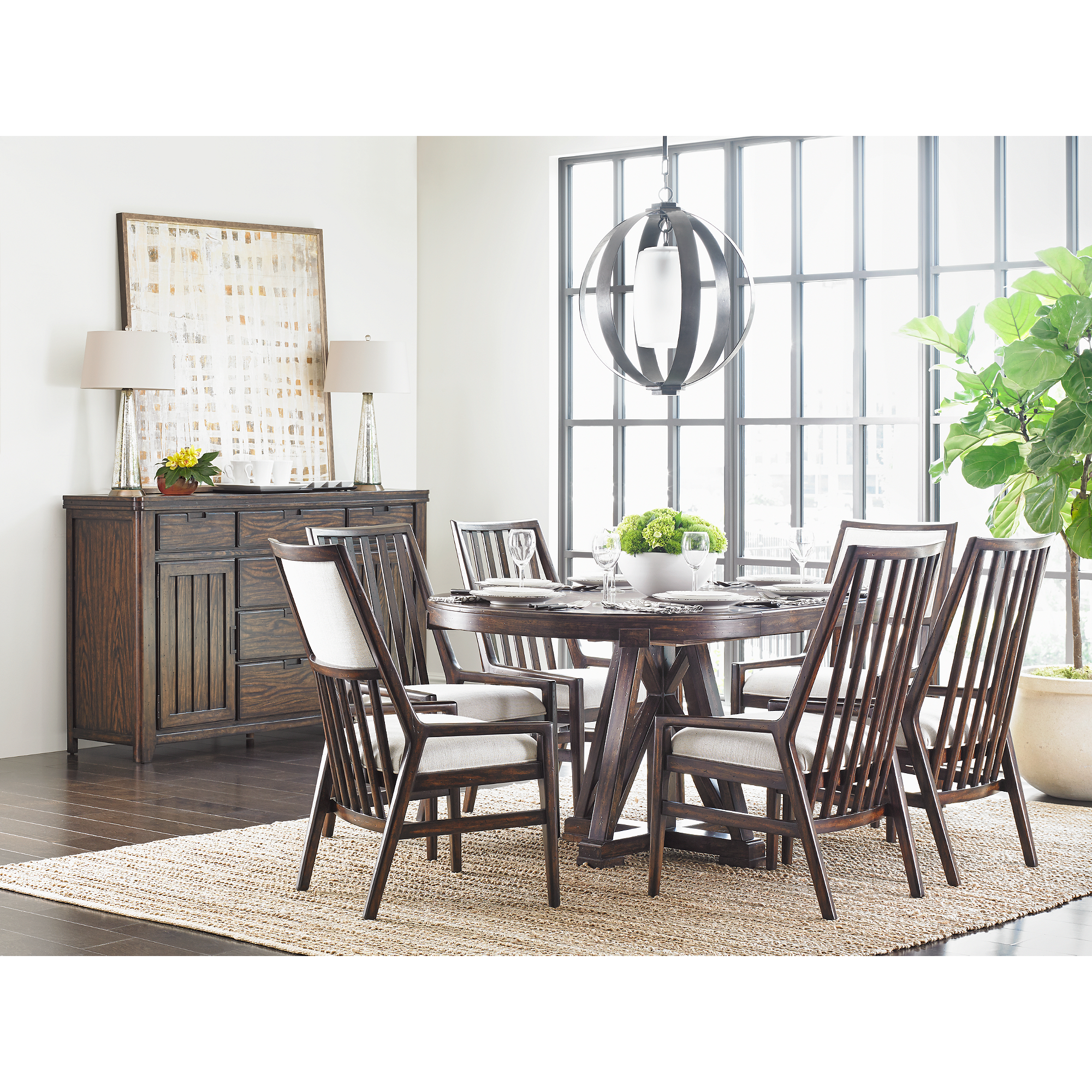 Stanley furniture dining room
